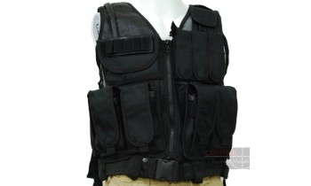 ACM No. 045 Tactical Vest (Black)