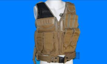 ACM No. 045 Tactical Vest (Tan)