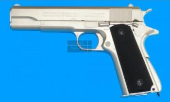 Tercel M1911 Silver GBB (Full Metal)