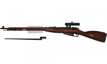 Red Fire Mosin Nagant Sniper Rifle (Gas Powered)