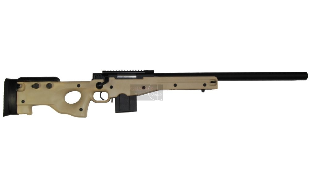 Well Aw Silenced Sniper Rifle Tan Tm System