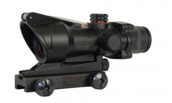 ACM ACOG TA-31 Style Red Dot Sight (Black)