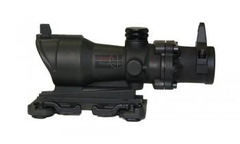 ACM Replica ACOG 4x32 With Iron Sight (Black)