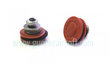 SHS AEG POM Piston Head with Bearing ( Red )