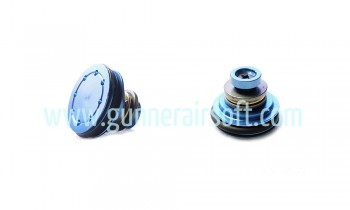 Super Shooter Metal flat piston head with the bearing