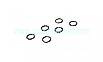 SHS Small O-Ring Set for Air Seal Nozzle ( 6pc )( 19x2.5mm )
